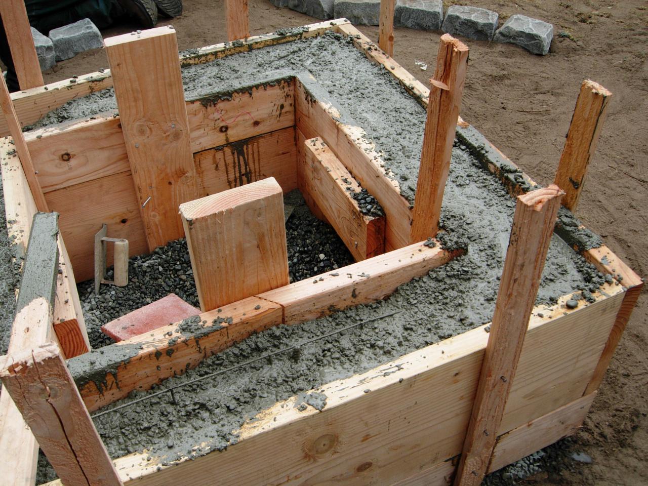How To Make A Concrete Fire Feature How Tos Diy
