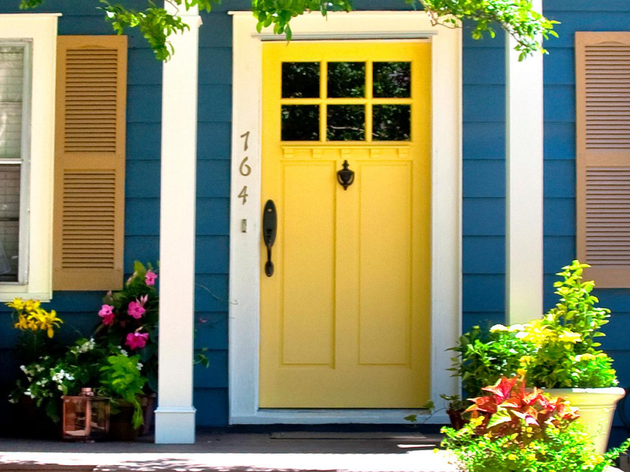 Instant curb appeal for under 100 diy landscaping Curb appeal doors