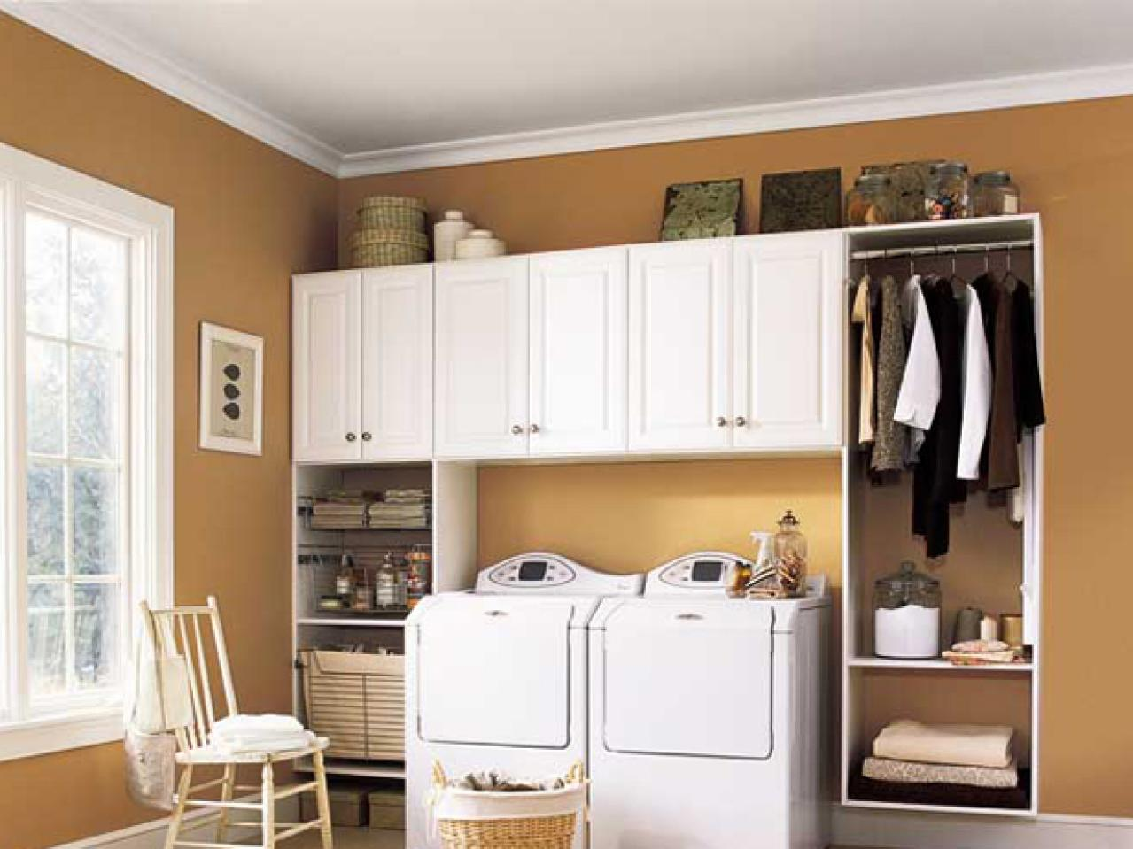 Laundry room storage ideas diy home decor and decorating - Laundry room design ideas ...