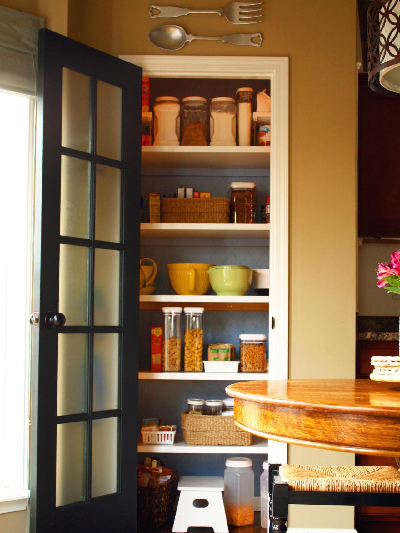 Design Ideas For Kitchen Pantry Doors Diy Kitchen Design