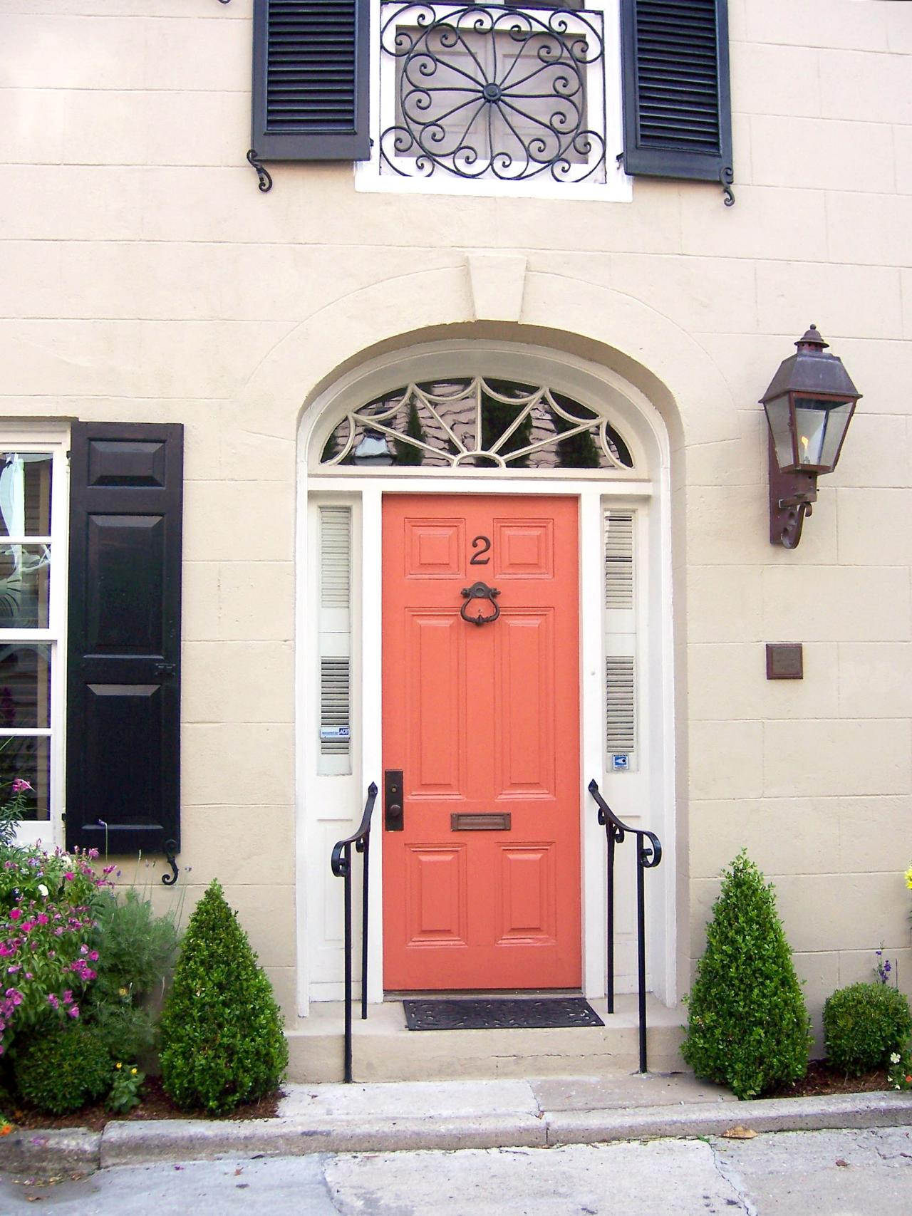 Popular colors to paint an entry door installing Best front door colors for brick house