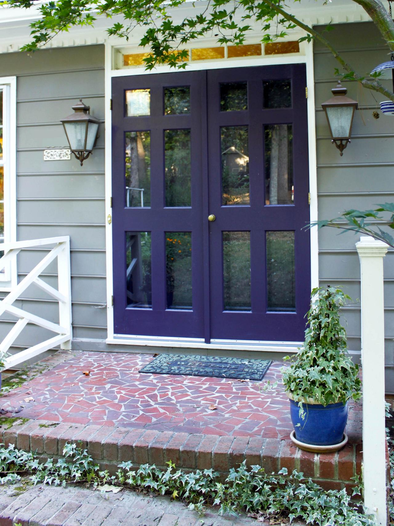 Popular colors to paint an entry door installing Dark green front door paint