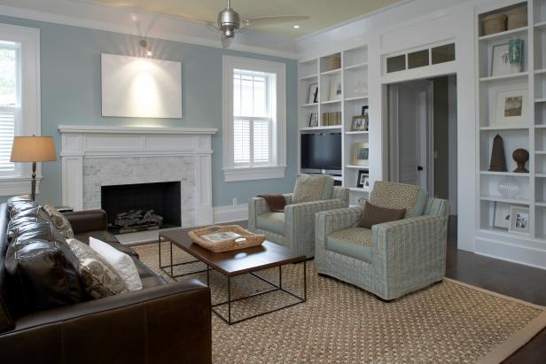 Living Room: Orlando Jones' Home in Wilmington, N.C.