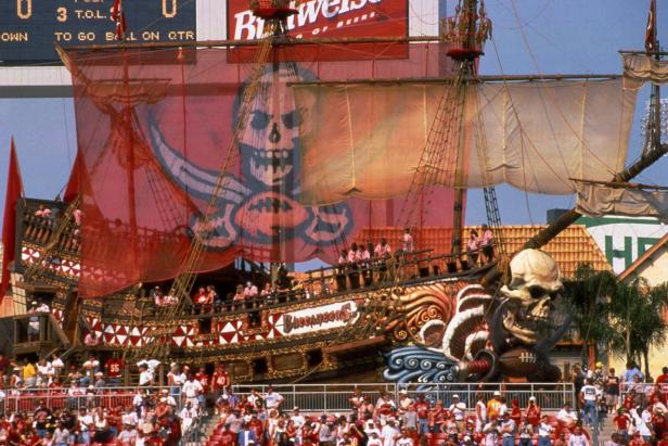 Buccaneer Cove at Raymond James Stadium in Tampa, Fla.