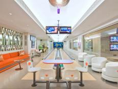Bowling Alley Home in Bridgehampton, NY - Bowling Alley