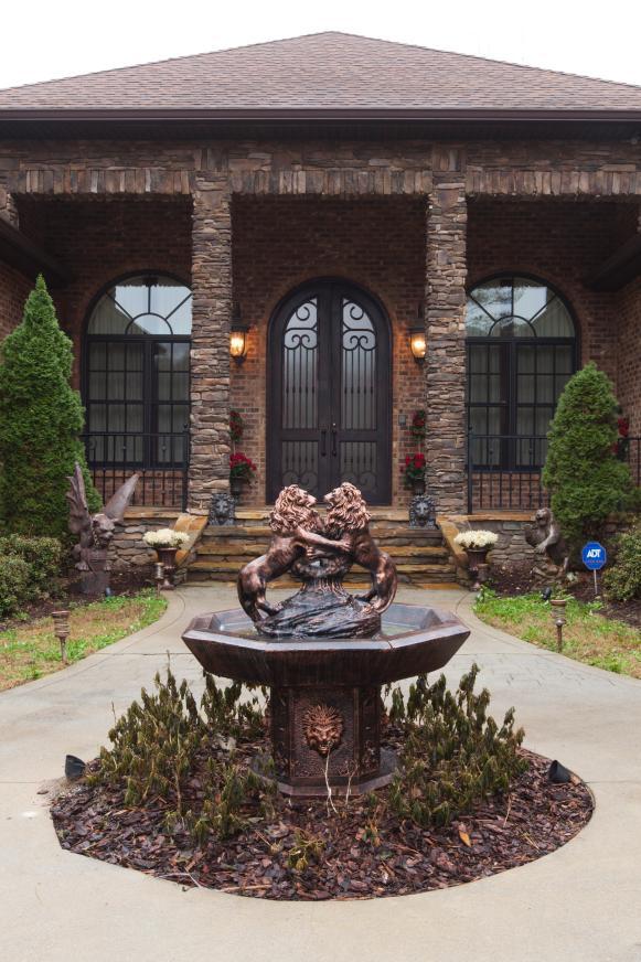 Entrance: William Moore's Home Near Atlanta