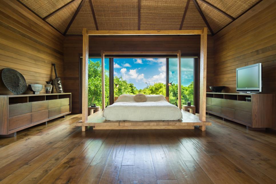 Tour Designer Donna Karan S Caribbean Sanctuary Hgtv