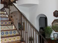 Staircase: Jason and Kimberly Clark's Los Angeles Home