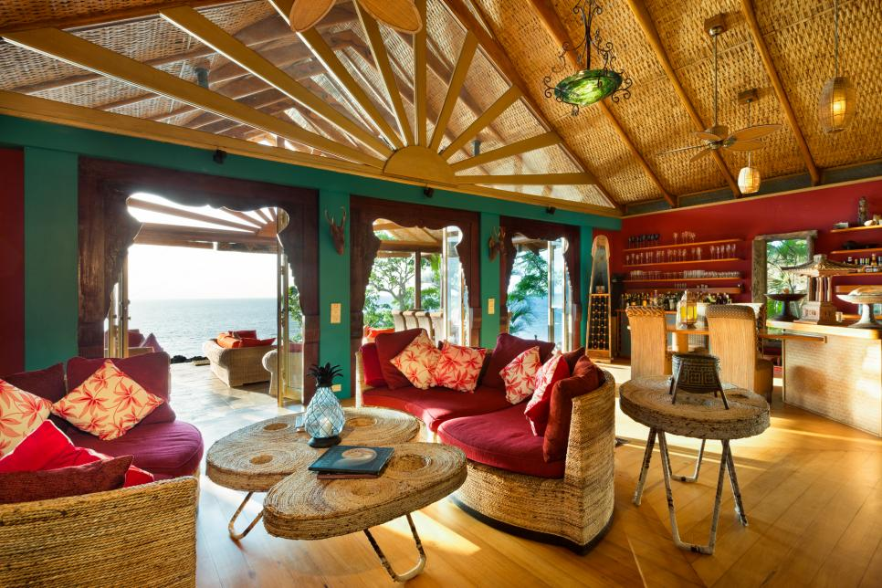 Celebrity vacation hot spot fiji private island estate hgtv - How to design a home ...