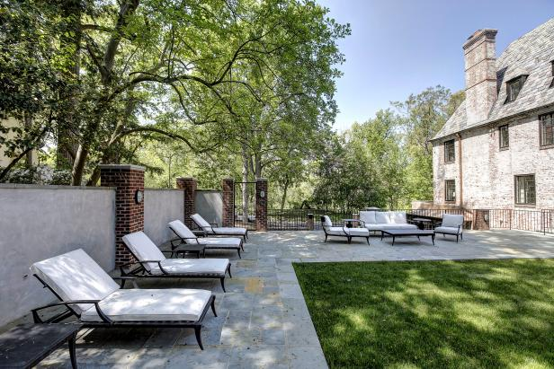 Patio: Historic Home on Belmont Rd in Washington DC