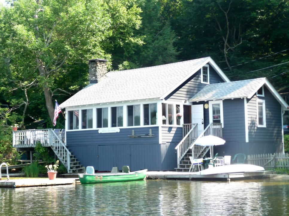 Lake House Remodeling Ideas Tiny Home Tour Waterfront Cottage In Ny Hgtv