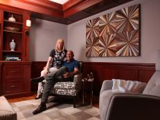 Media Room: Steve and Rachelle Wilkos' Connecticut Home