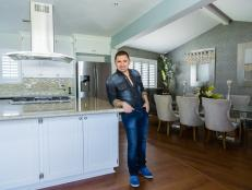 Kitchen: Larry Hernandez's California Home