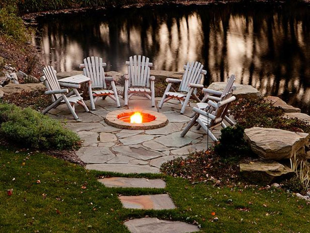 Small Fire Pit Designs and Ideas | HGTV