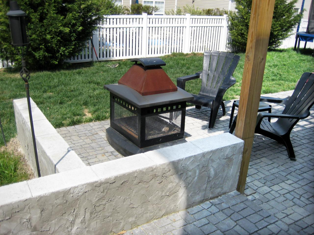 types of portable outdoor fireplaces hgtv