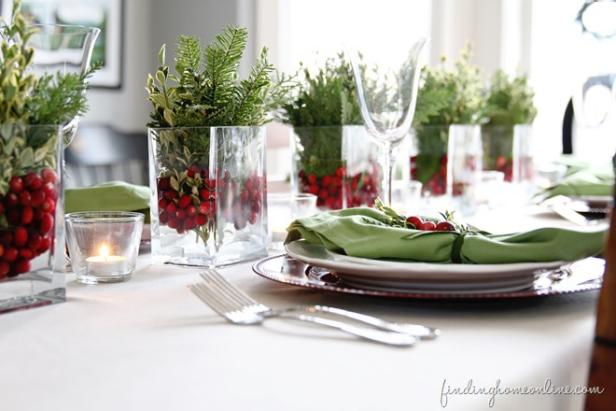 How to use natural elements in indoor holiday decor hgtv