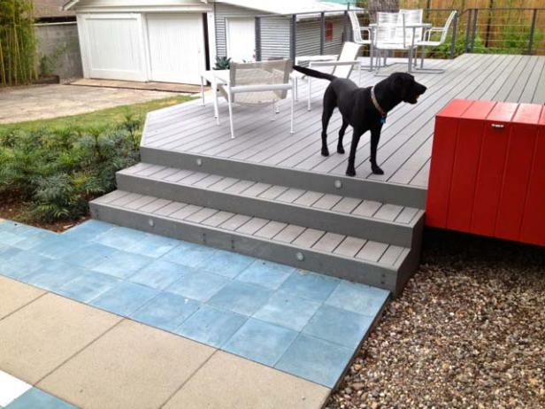 Add Color Tile for Outdoor Impact