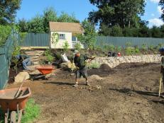 Laying the Groundwork for the Children's Garden