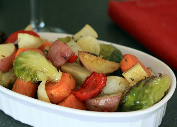 Bring out the flavors in garden vegetables through roasting.