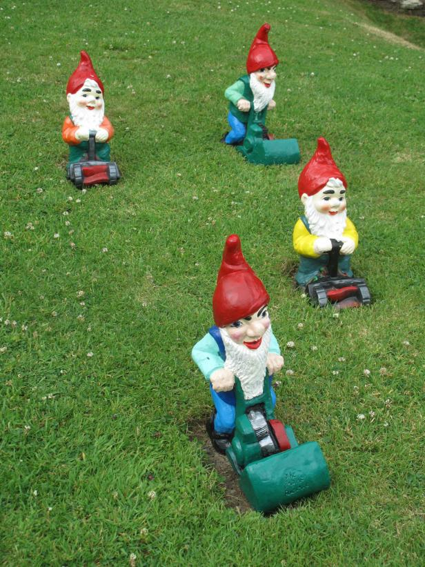 Mowing Gnomes