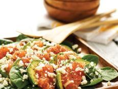 Spinach Avocado Grapefruit Salad
