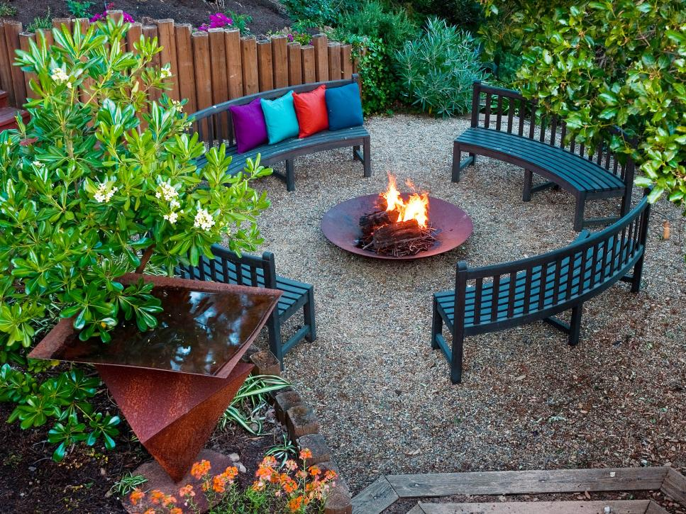 Fire Pit Designs Custom Fire Pit Ideas  Hgtv Inspiration Design