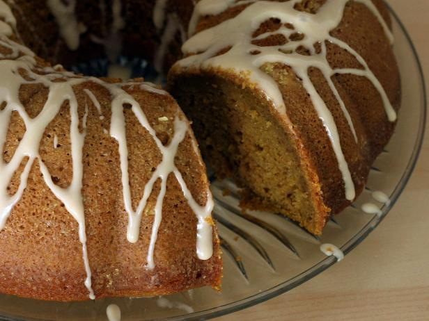 Pumpkin spice bundt cake is even better a few days after baking.