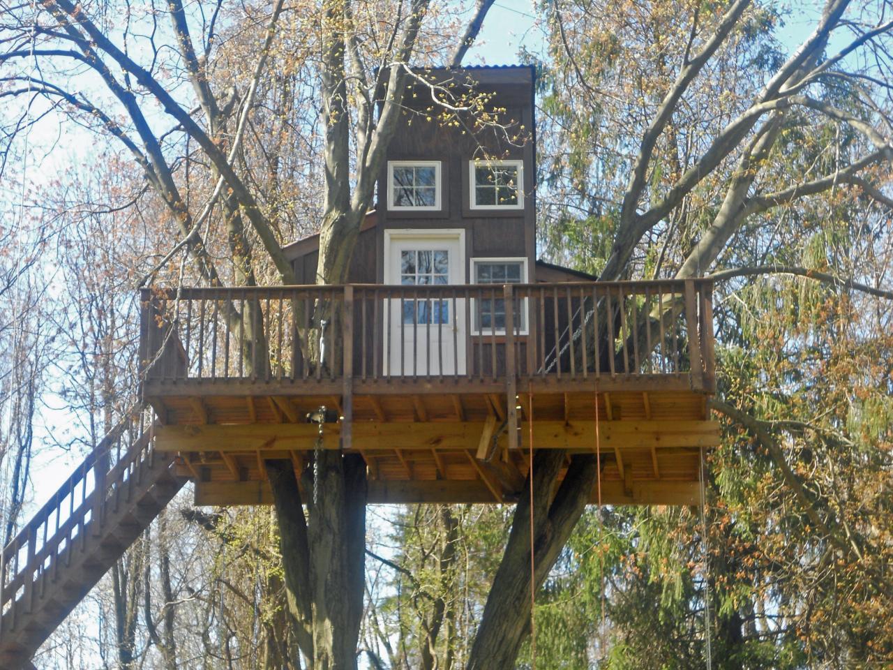 Treehouse Style House : Treehouse designers guide living tree llc hgtv