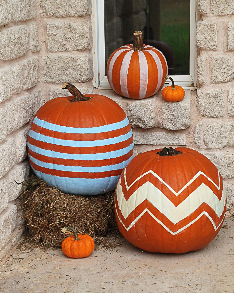 No Carve Pumpkin Decorating Ideas Hgtv