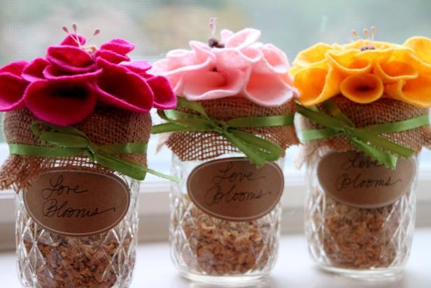 Wedding Favors: Seeds of Love
