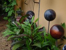 bowling bowl sculptures
