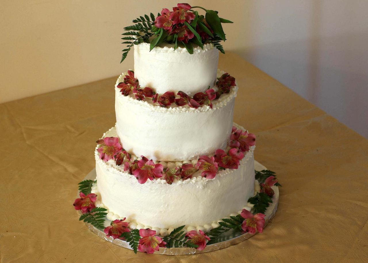 Homemade Wedding Cake Recipe