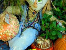 Yard Folk: A Scarecrow in Felder Rushing's Garden