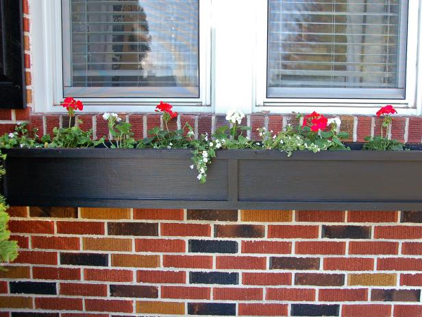 Exterior Shot Of Window Box
