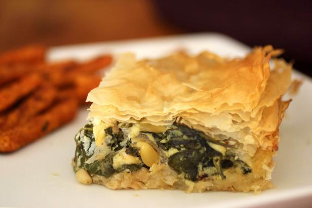 Winter Greens Pie