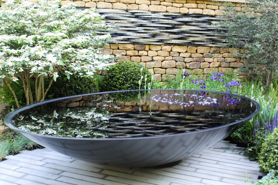 Water Features For Small Spaces Hgtv