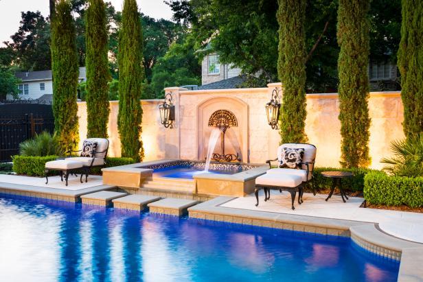 Amazing Swimming Pool Fountains Hgtv