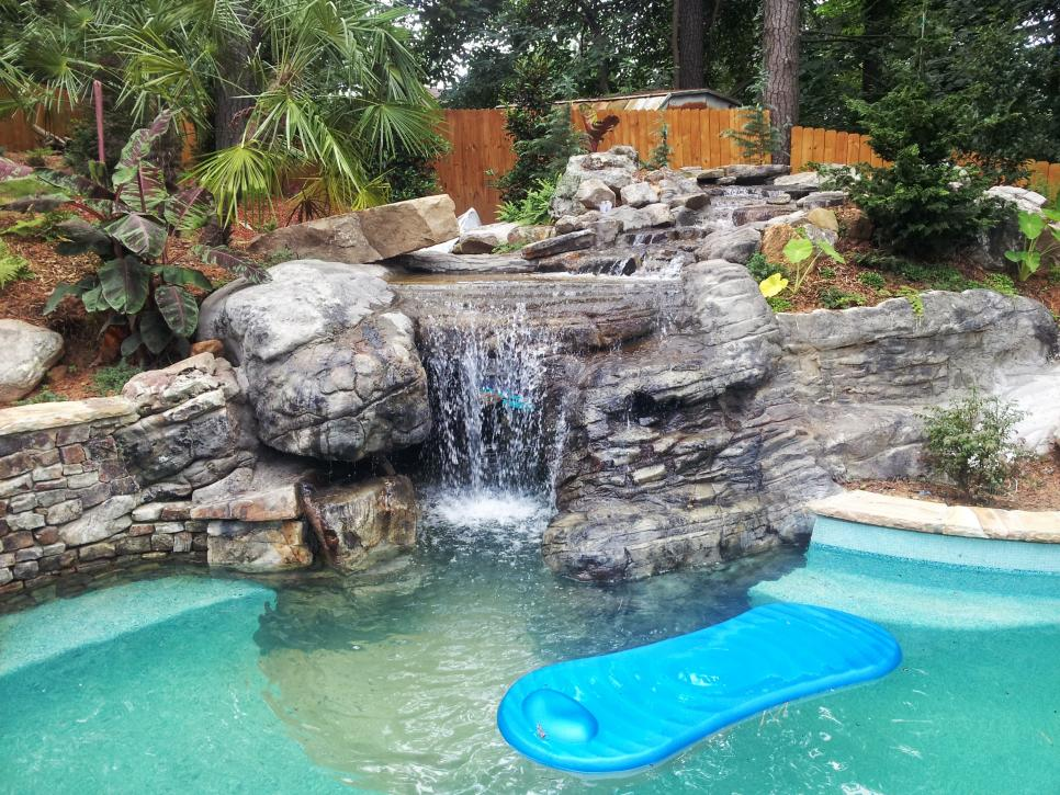 Incredible Swimming Pool Design Before And After Hgtv