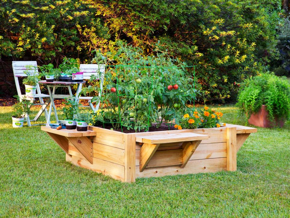 Raised Bed Garden Designs HGTV