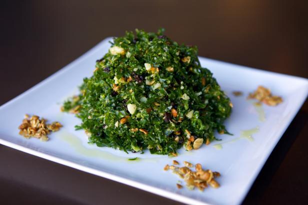 Manchego Kale Salad