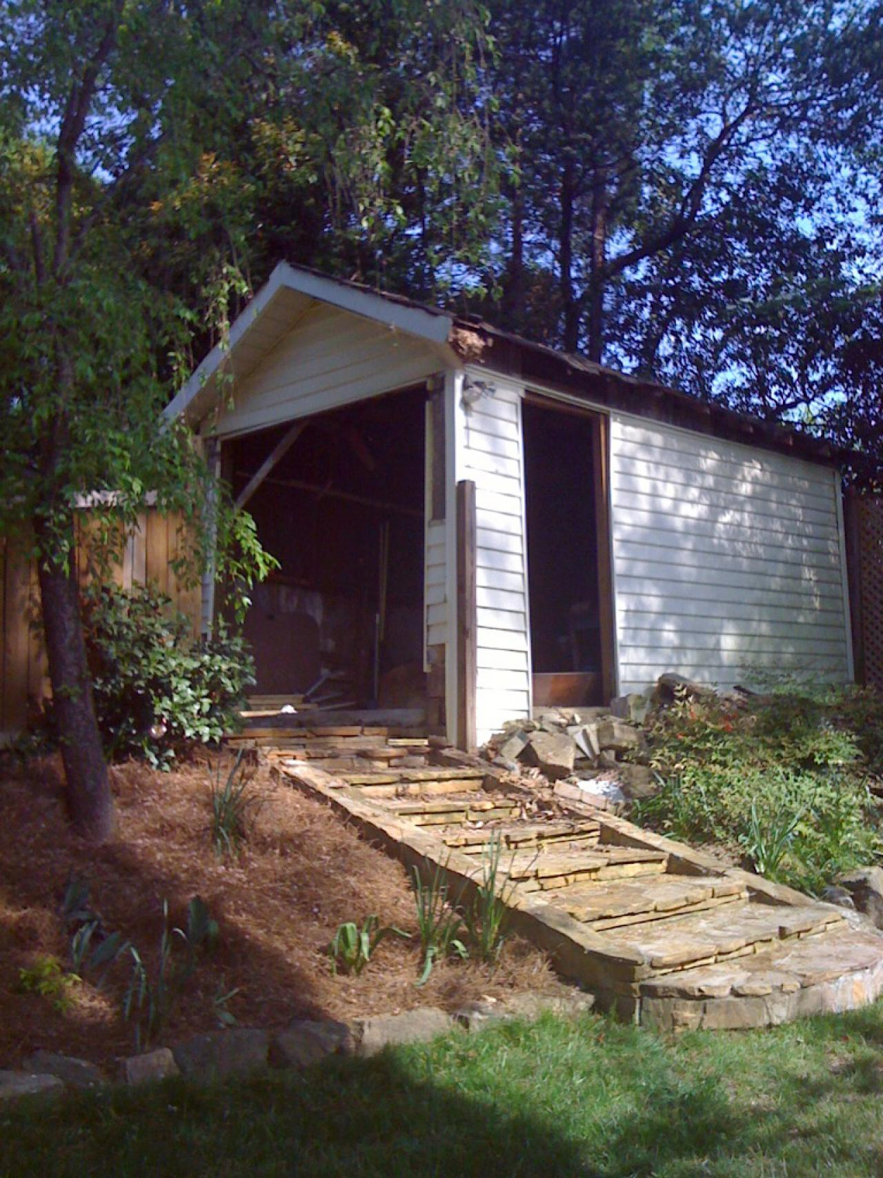 ^ Garden Shed Overhaul Fit for a View Outdoor Design ...