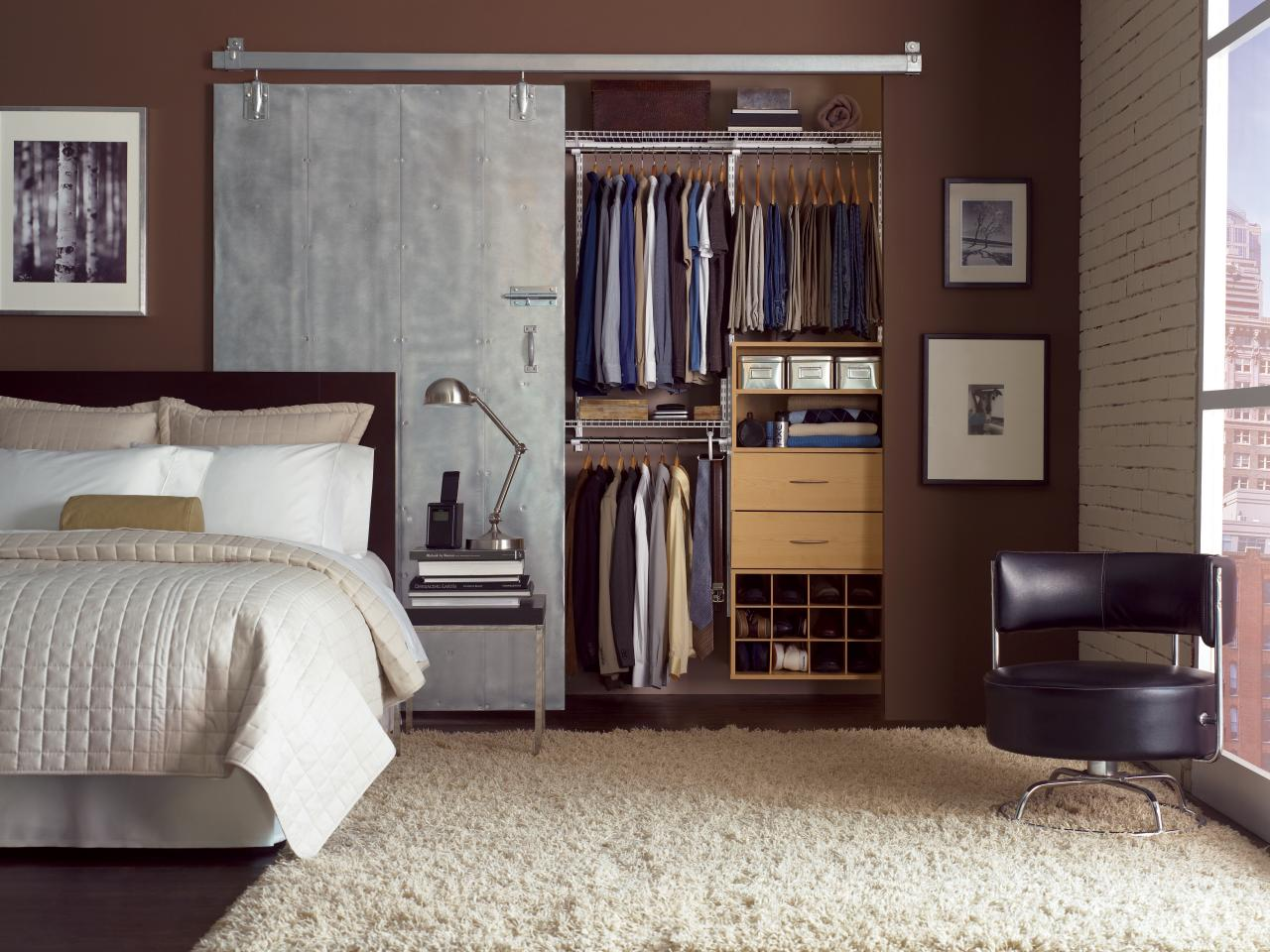 Loft Closet Ideas Small Closet Organization Ideas Pictures Options & Tips  Hgtv