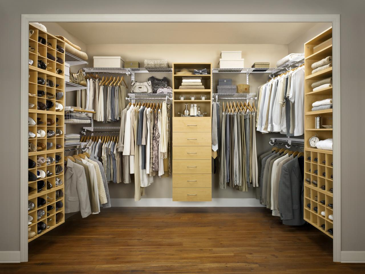 Bedroom Closets Design master closet design ideas | hgtv