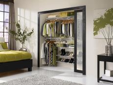 Modern Reach-In Closet