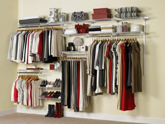 Budget Walk-In Closet