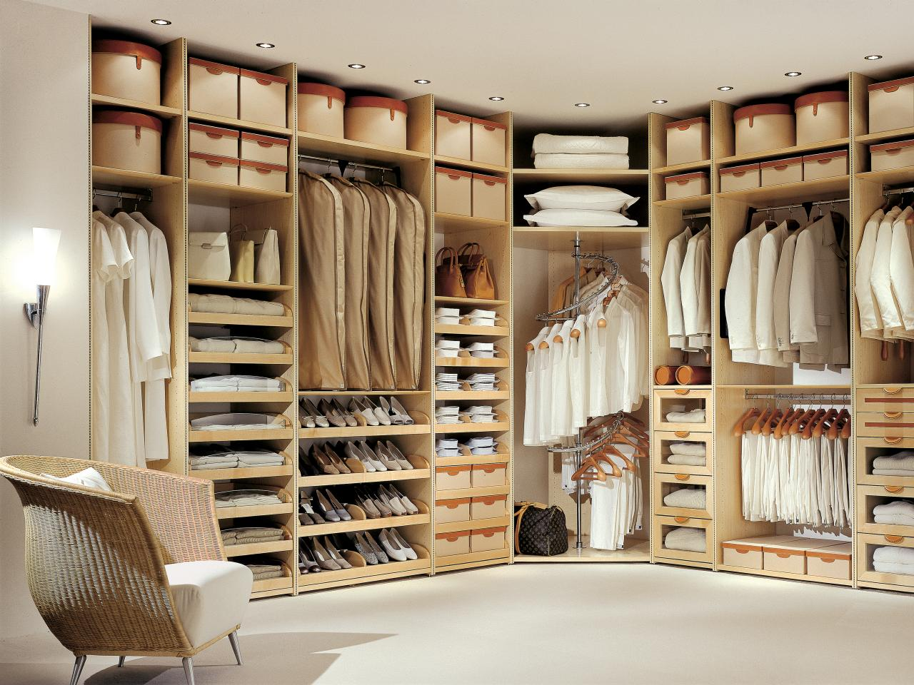 timeless style - Custom Closet Design Ideas