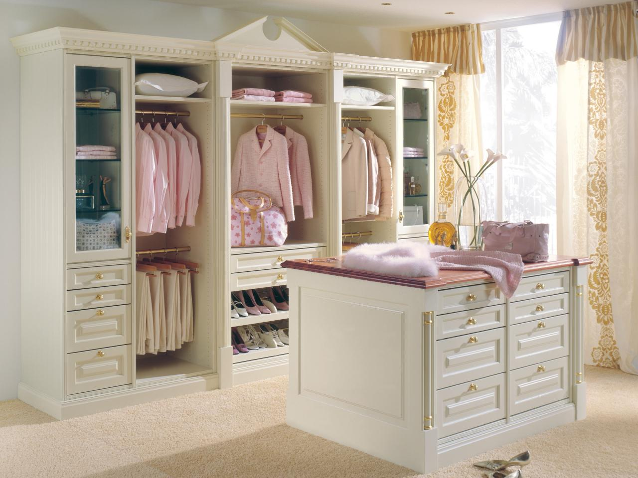 comfortable and personal - Custom Closet Design Ideas