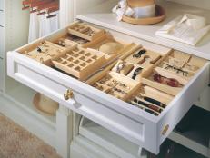 Closet Jewelry Drawer