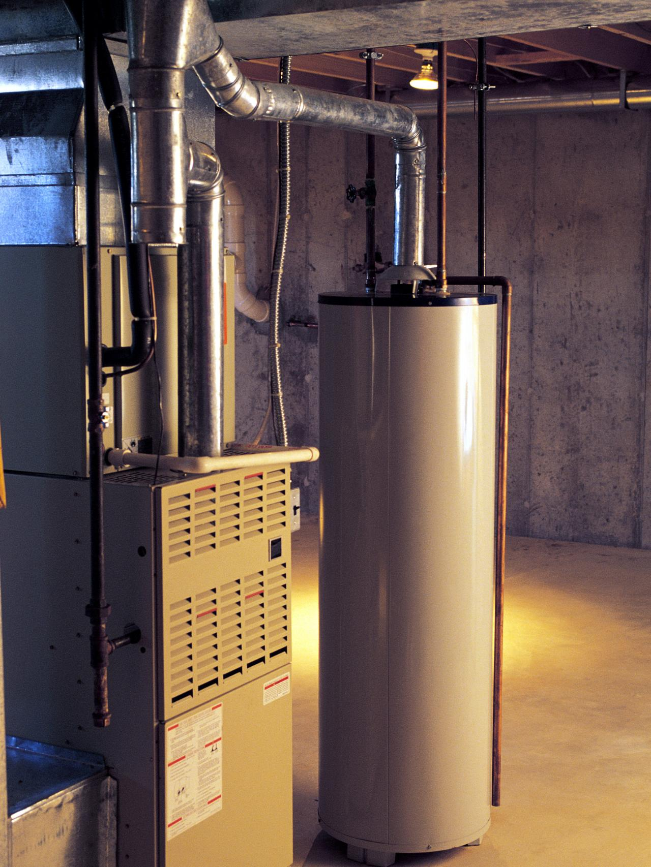 Choose the right size water heater hgtv for How to choose a gas furnace