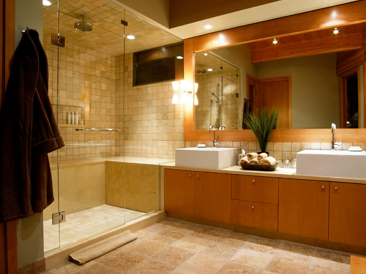Lighting For Bathrooms Glamorous Bathroom Lighting  Hgtv Inspiration Design